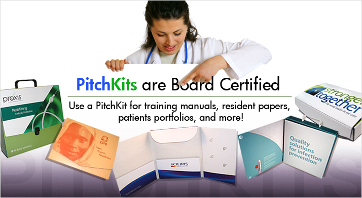PitchKits are Board Certified