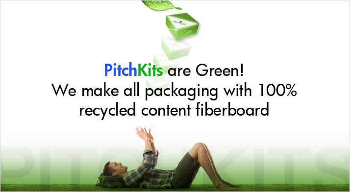 PitchKits are Green!